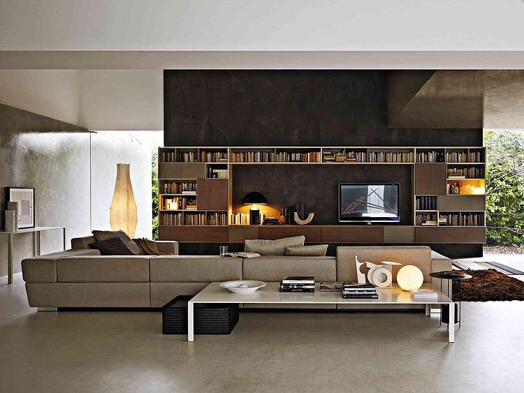 craquez pour un canap tout en cuir deco de salon. Black Bedroom Furniture Sets. Home Design Ideas