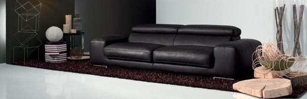 Craquez Pour Un Canapé Tout En Cuir Deco De Salon - Canape tout cuir