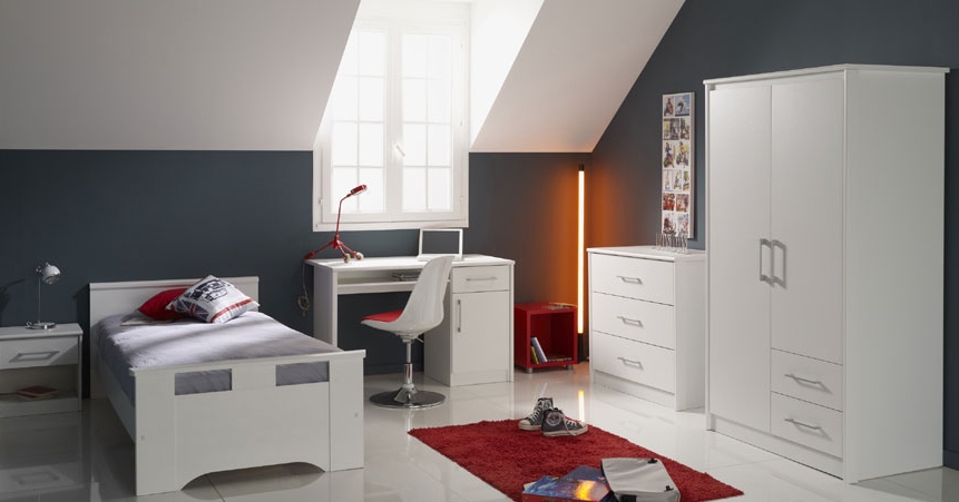 Chambre ado comble id es de d coration et de mobilier for Photo chambre ado
