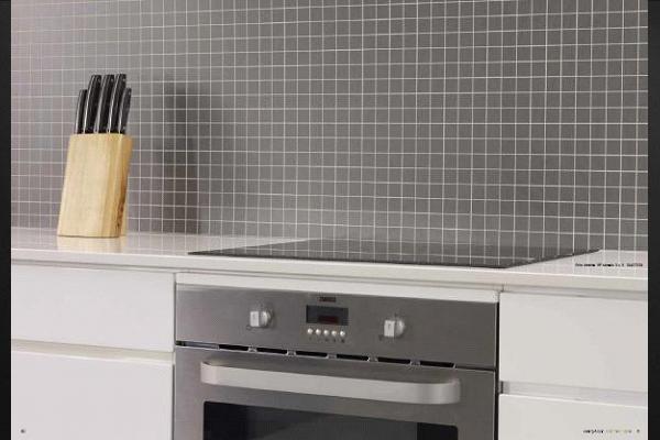 Credence cuisine imitation carrelage carreaux de mosaque autoadhsif pour crdence cuisine en - Credence ardoise a coller ...