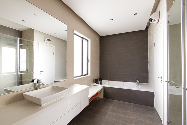 Awesome Beton Cire Salle De Bain Carrelage Pictures  Design Trends