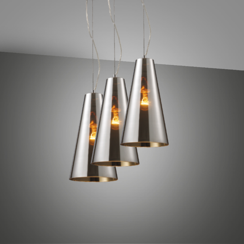 Les luminaires participent au d cor deco de salon for Luminaire triple suspension
