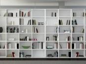 Meuble-bibliothèque-blanc