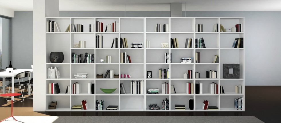 Biblioth ques en folie deco de salon for Deco salon bibliotheque