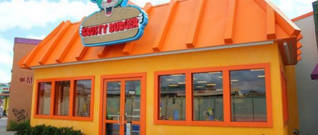 Oh pinaise un Krusty burger !