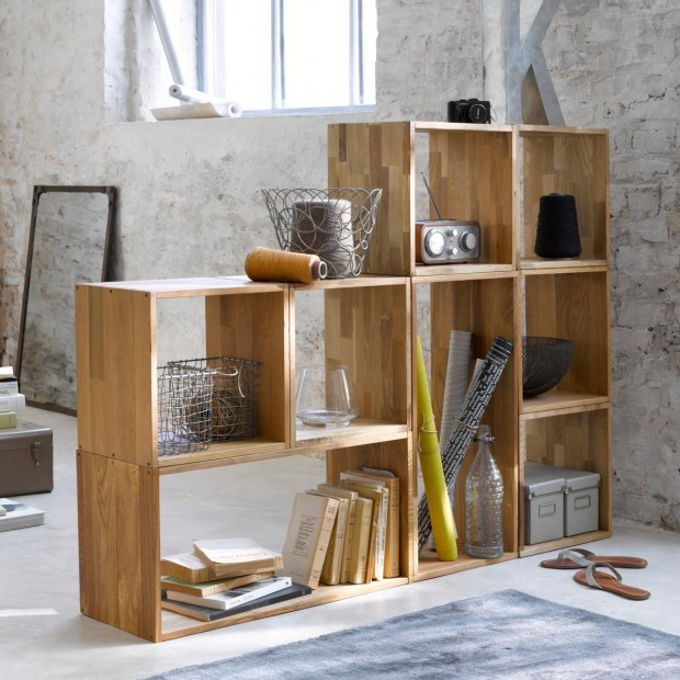 Biblioth ques en folie deco de salon - Meuble de salon modulable ...