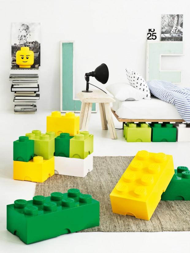 Les lego ne sont pas qu un jeu deco de salon - Boite rangement lego pas cher ...
