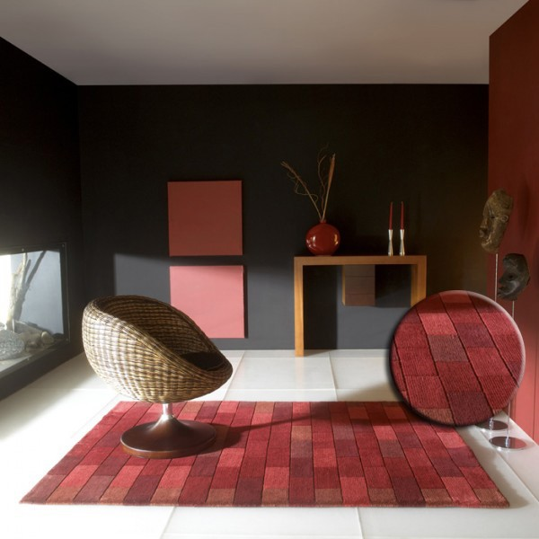 le tapis design par tapis chic deco de salon. Black Bedroom Furniture Sets. Home Design Ideas