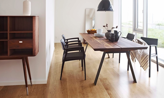 Table salle a manger design scandinave images for Table salle a manger 3 metres